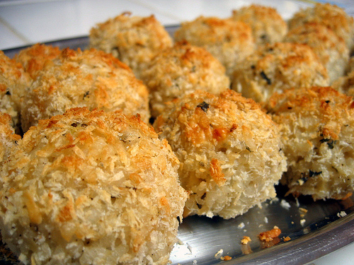 Oven-Fried-Rice-Ball-with-Gruyère