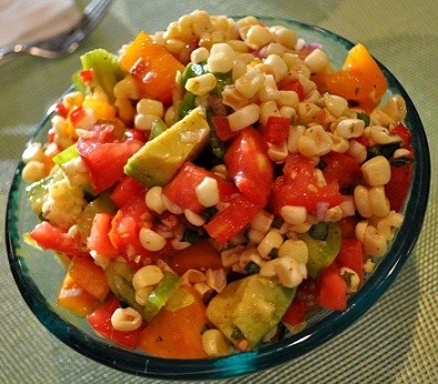 Corn-tomato-avocado-Salsa