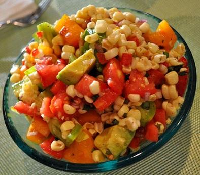 Corn-tomato-avocado-Salsa