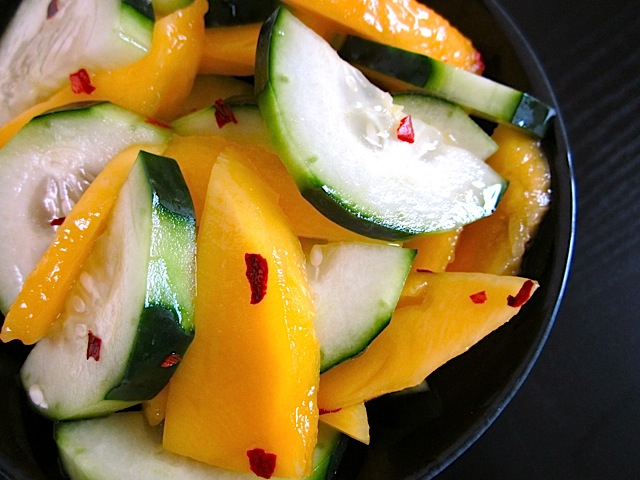 Mango Cucumber Salad | Rosellyn