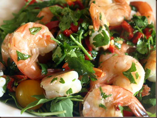 shrimp-in-cilantro-wine-sauce