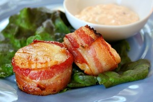 Bacon-Wrapped-Scallops
