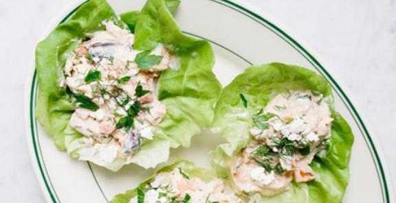 Mediterranean-Chicken-Salad-Cups