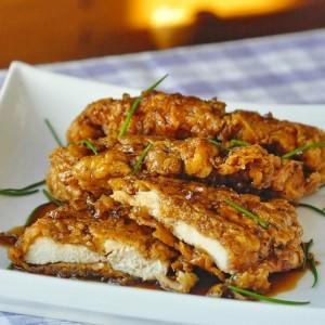double-crunch-honey-garlic-chicken-breasts