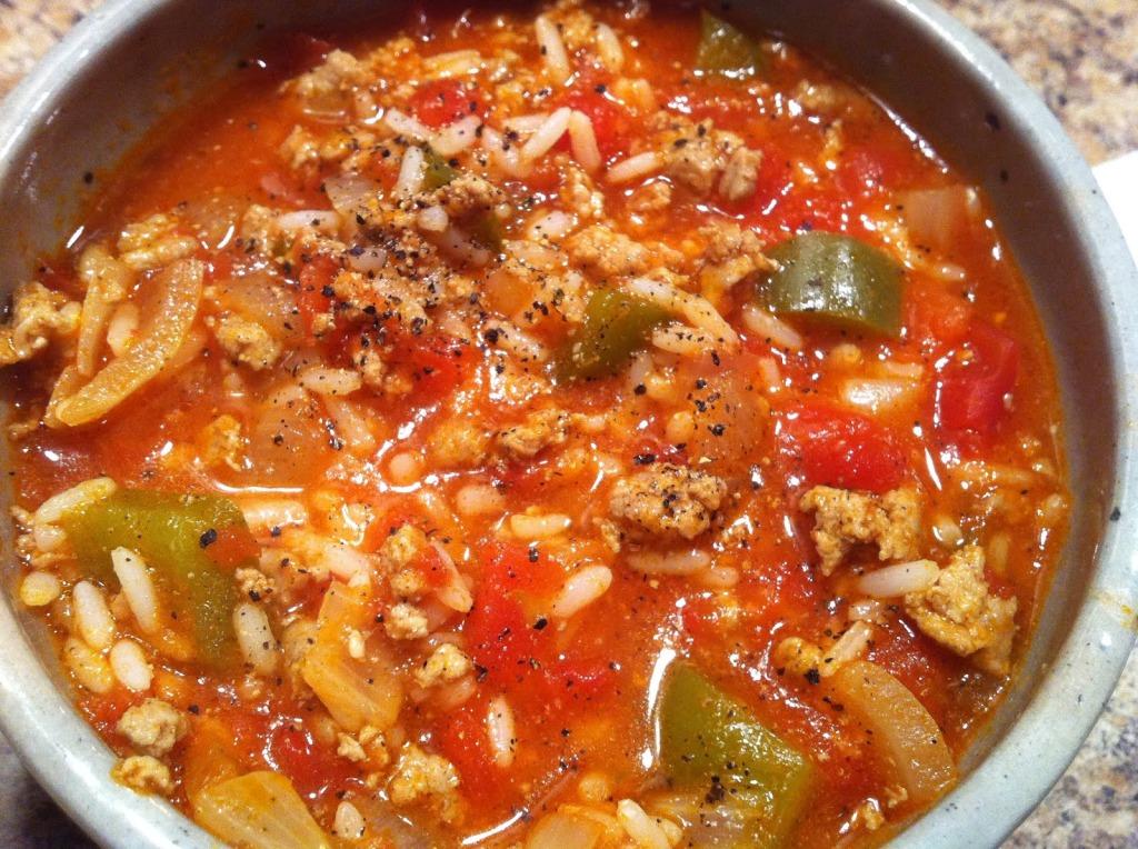 Stuffed Pepper Soup | Rosellyn