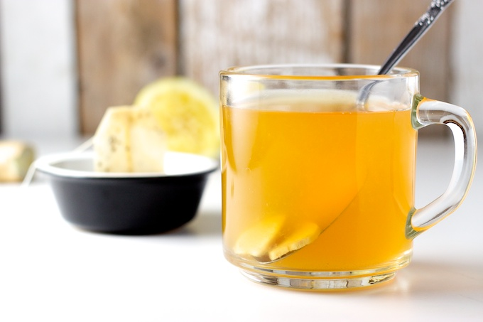Ginger Lemon Honey Tea Recipe — Dishmaps