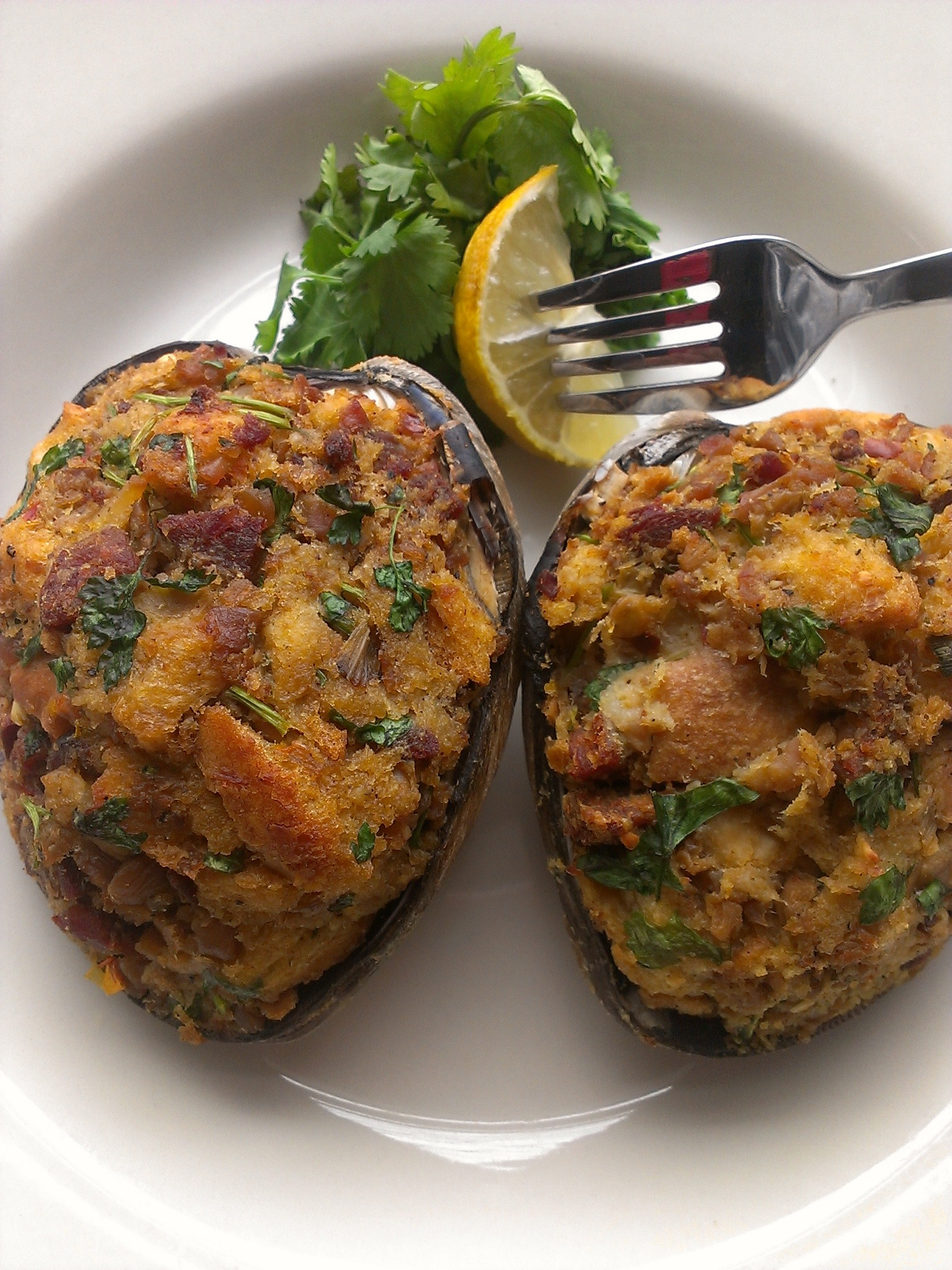 Baked Stuffed Clams 3