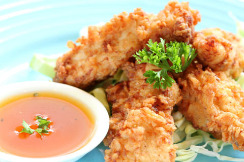 Coconut-chicken-bites