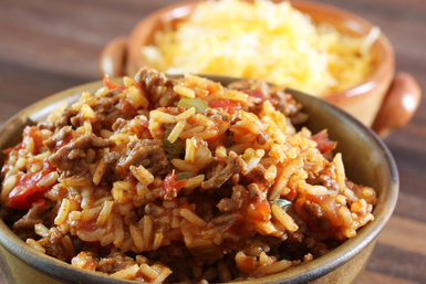 Spanish Rice with Meat