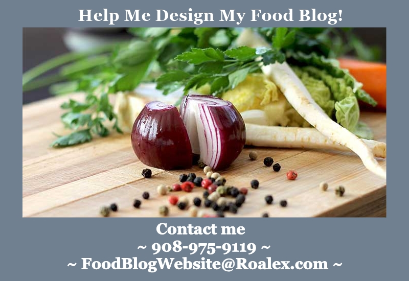 Food Blog Website Banner