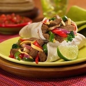 Lime Cilantro Beef Fajitas | Rosellyn
