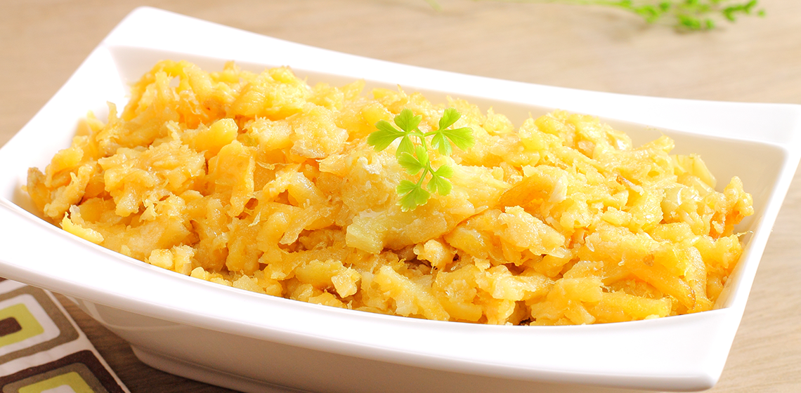 Portuguese Scrambled Eggs With Salt Cod And Potatoes Recipes ...