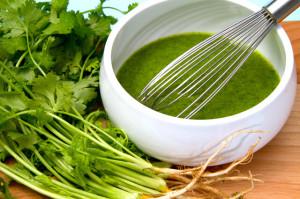 Spicy-cilantro-vinaigrette