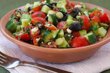 tomato-cucumber-feta-salad