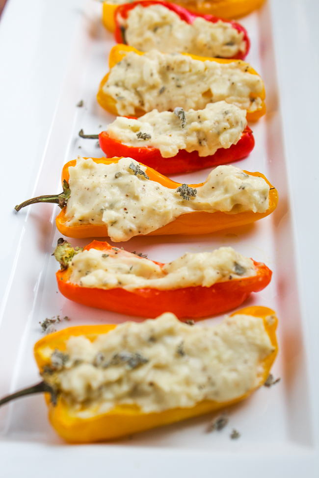Stuffed-Peppers-with-Goat-Cheese