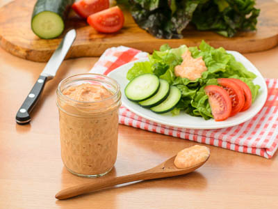 Diet 1000 Island Dressing Fabricks