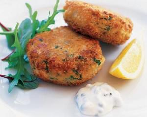 salt cod potato cakes