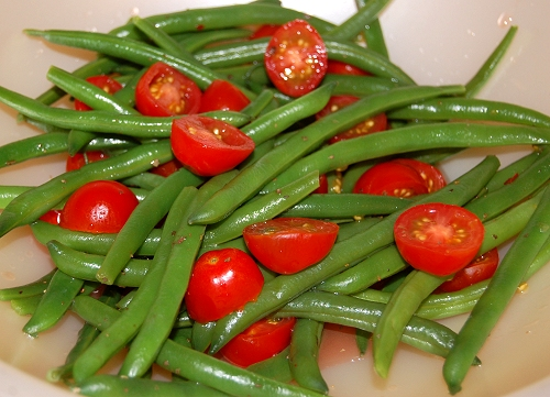 this green bean and cherry tomato salad a light and refreshing salad ...