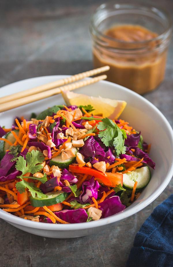 Classic Thai-Salad-Peanut-Dressing