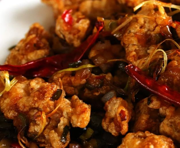 Spicy garlic fried chicken rosellyn spicy garlic fried chicken forumfinder Image collections