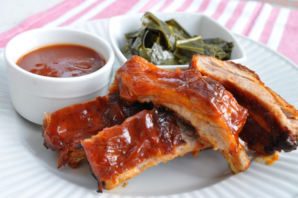 Fall off the bone pork ribs