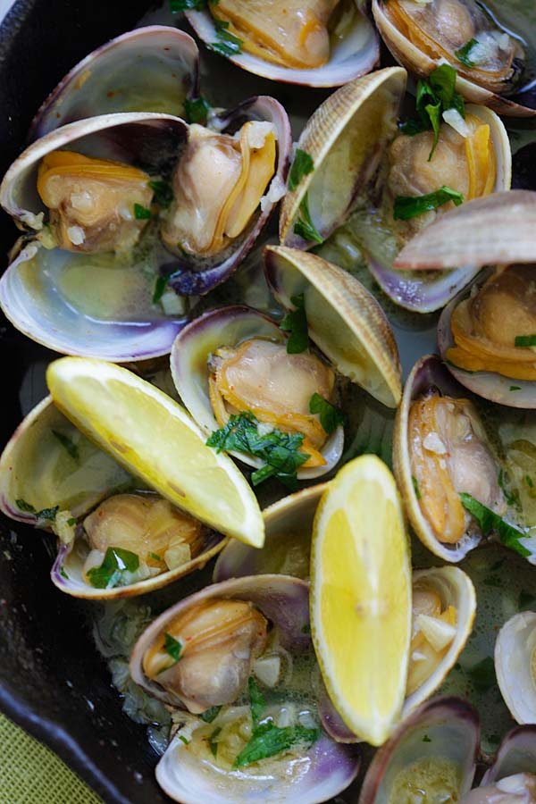 R Clams Healthy Garlic Butter Sauteed ...