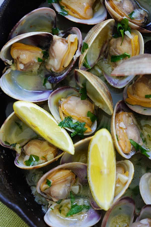 sauteed-clams