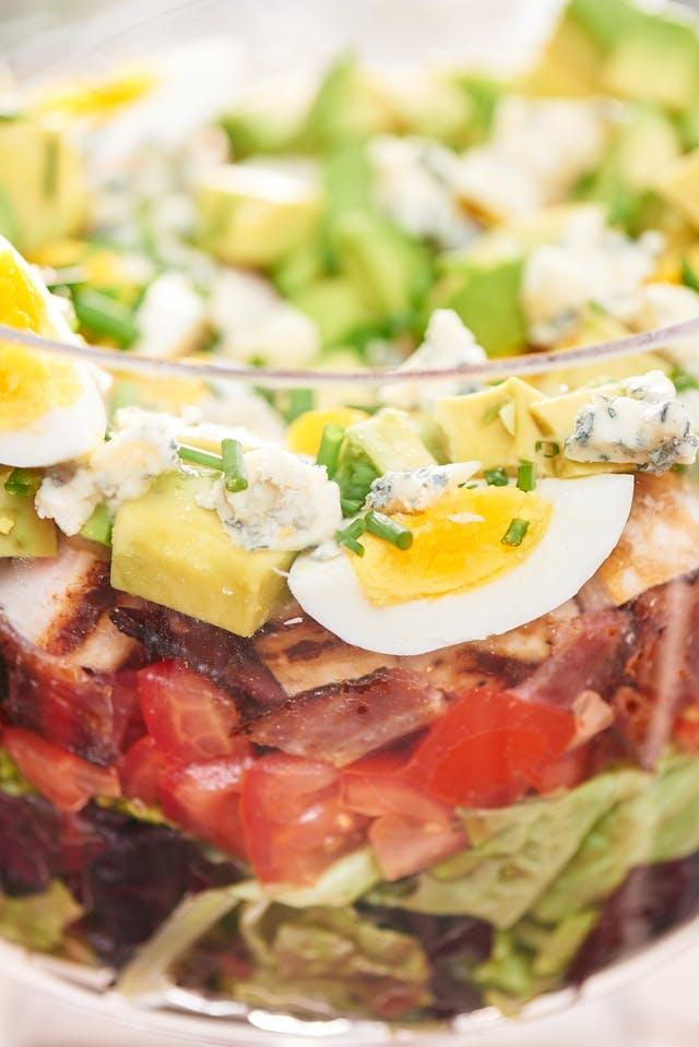 Layered Cobb Salad | Rosellyn